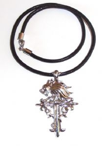 GOTHIC Squall GRIEVER NECKLACE Final Fantasy cross